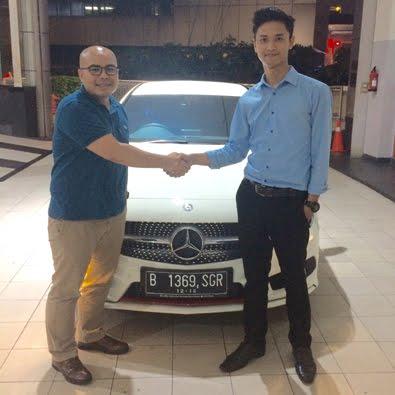Pembelian A 250 Sport a/n Bapak Ashari