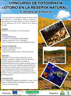 CONCURSO DE FOTOGRAFÍA Otoño en la Reserva Natural Garganta de los Infiernos