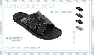 Chinelo masculino Cartago FIJI Slide