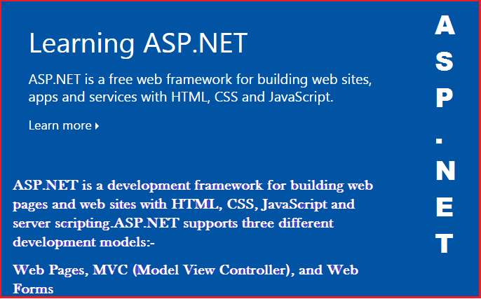 Features in ASP.NET 4.5