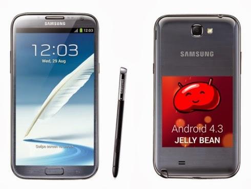 Iniziato l'aggiornamento a livello internazionale del Samsung Galaxy Note 2 alla versione 4.3 di Android