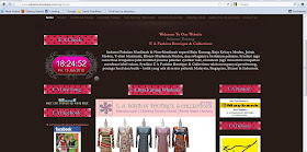 E A Fashion Website