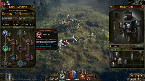 Screen Shot Of The Incredible Adventures of Van Helsing (2013) Full PC Game Free Download At Downloadingzoo.Com