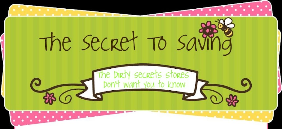 The Secret To Saving