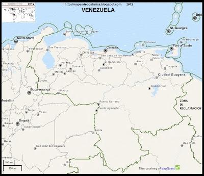 Mapa de VENEZUELA, OpenStreetMap