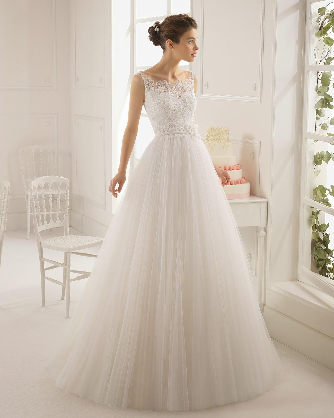 Vestidos de novias romanticos