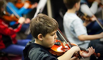 Violin for Kids at Country Club Vacation