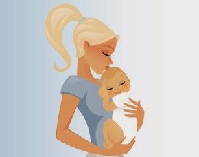 Banco de imagenes y fotos gratis dibujos de madres y - Dibujos pared bebe ...