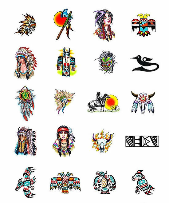Apache Indian Clan Symbols