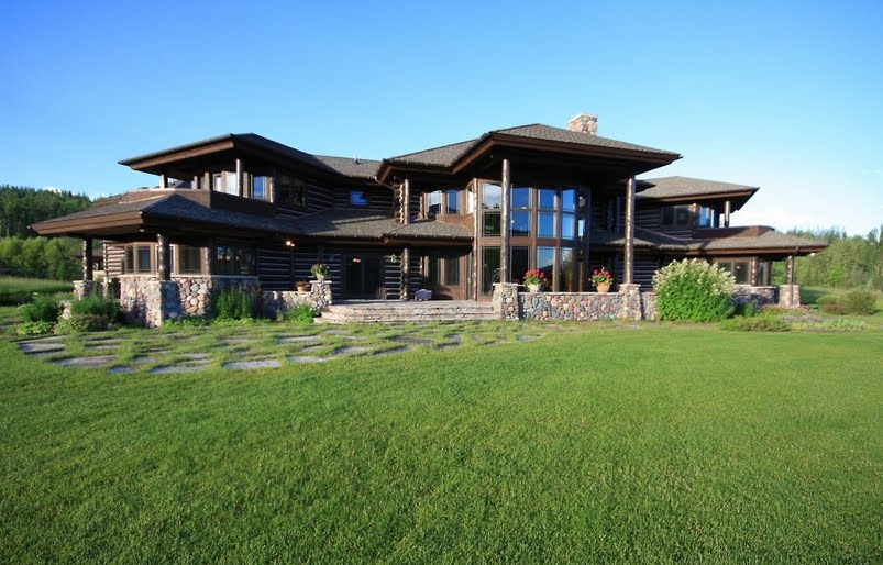 Blogger User Profile Luxury Log Home Montana
