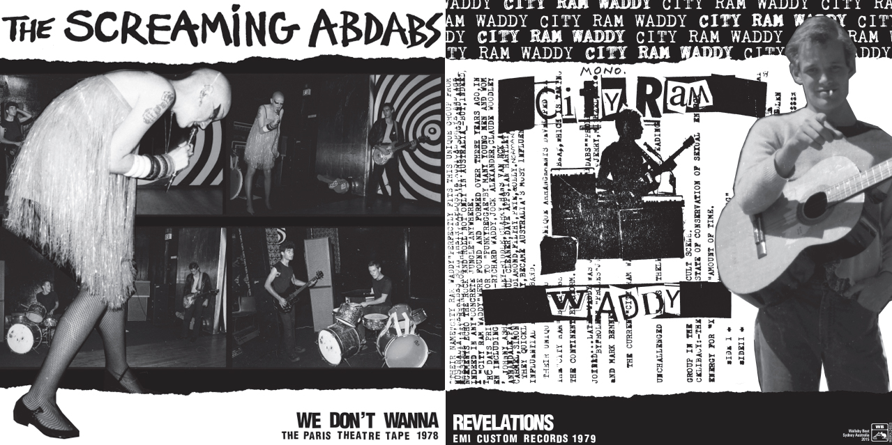 The Screaming Abdabs City Ram Waddy LP Out Now