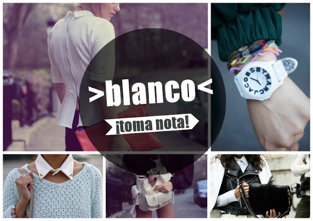 STREET STYLE  BLANCO AQUI TIENES LAS CLAVES PARA TU LOOK!