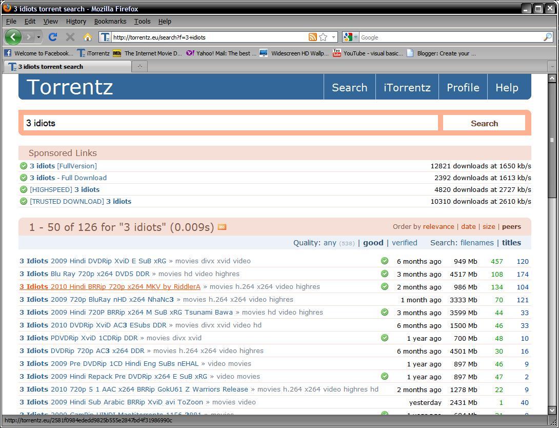 3 idiots movie torrent download hd