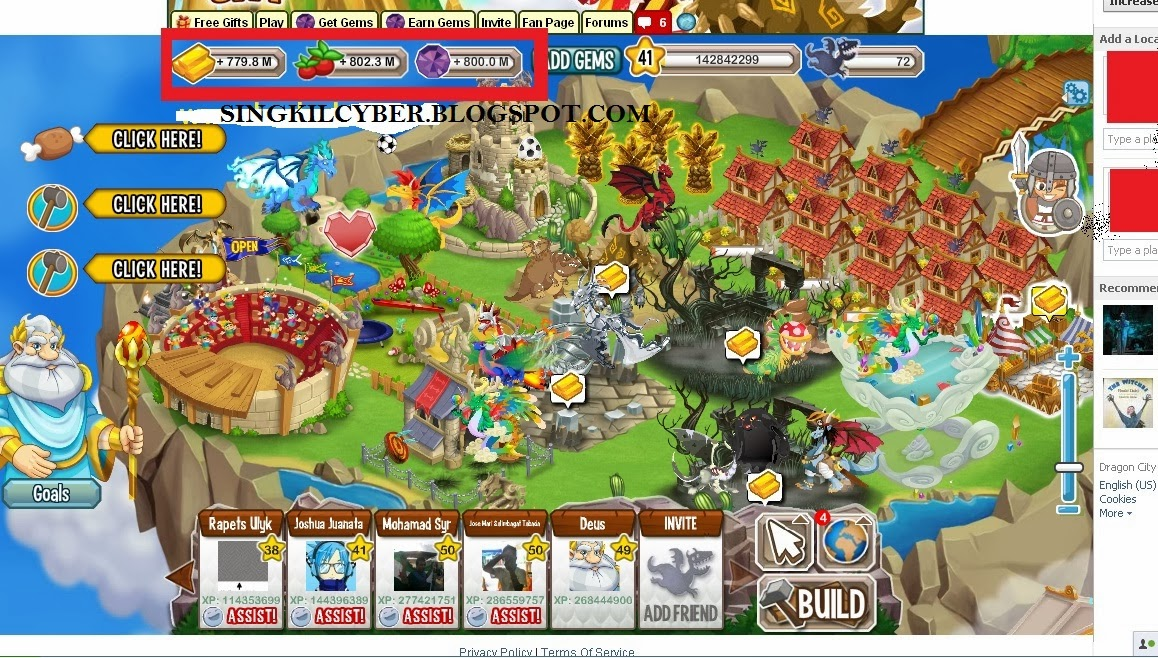 Jual Gems dan Tools Gems Dragon City Murah
