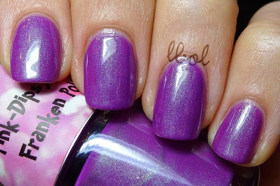 PinkDipsyBulle - Rapunzel Swatch