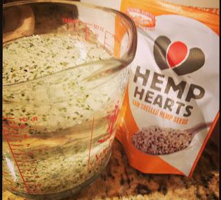 soaking hemp hearts
