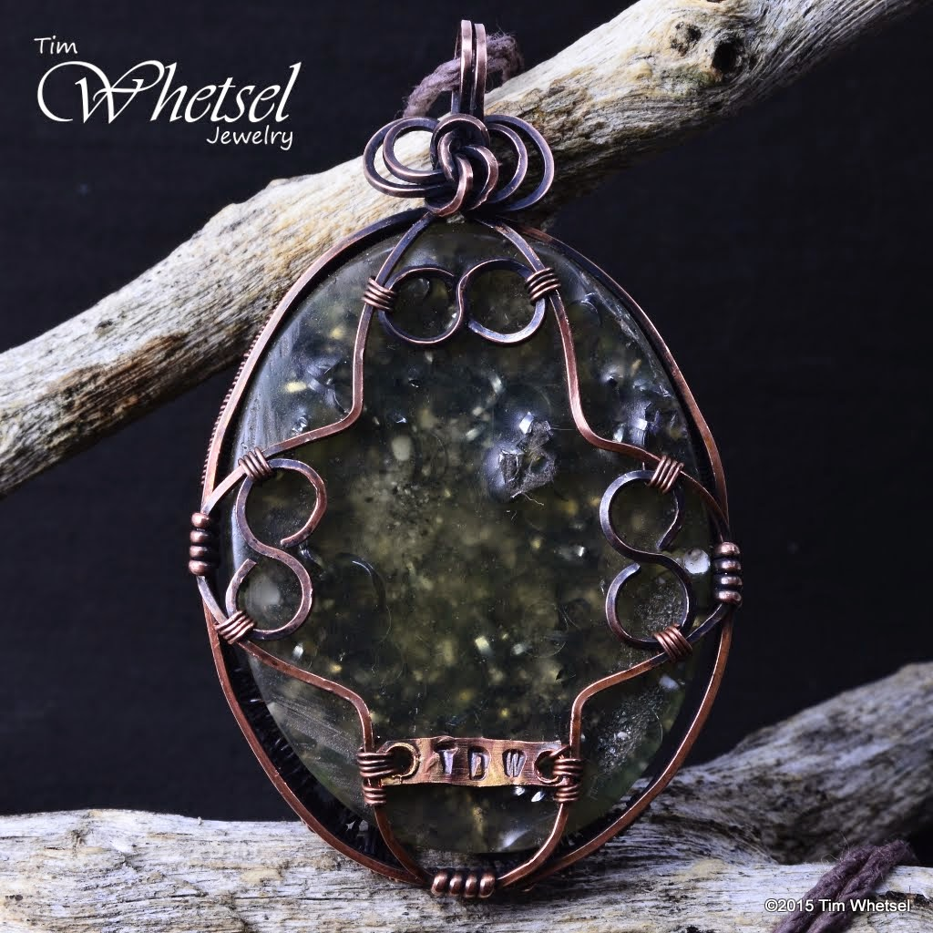 Wire Wrapped Jewelry by Tim Whetsel: March 2015