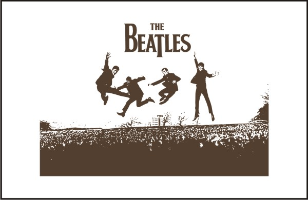 the_beatles-group_back_vector
