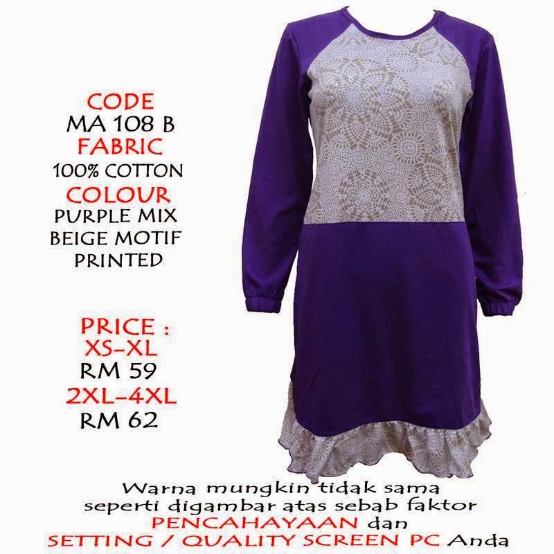 T-shirt-Muslimah4u-MA108B