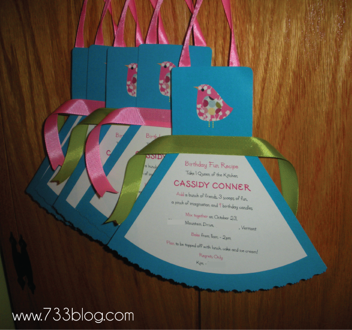 Sneak Peek: Cooking Party Invites - Inspiration Made Simple