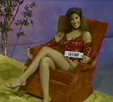 "7th Grade Hormones Erupt! Here's Leggy, Busty Hostess Jan Speck from 80s Game Show ""Treasure Hunt""!"