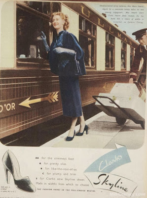 Moira Shearer for Clarks, 1950