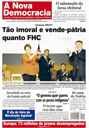 Jornal A Nova Democracia nº 110 (2ª quinzena de maio/2013)