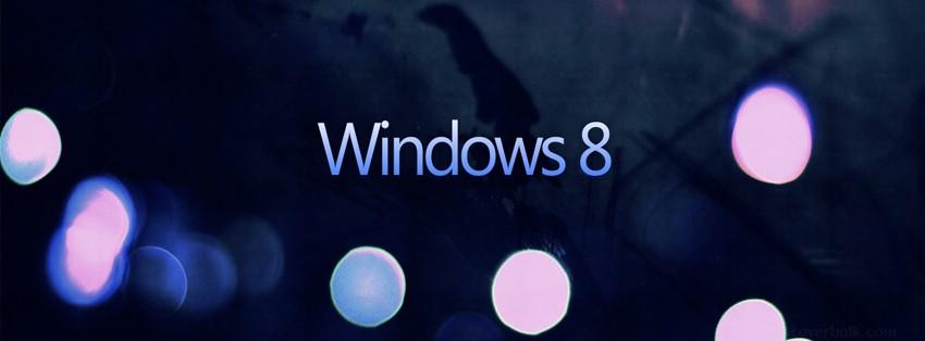Dark windows 8 facebook timeline cover