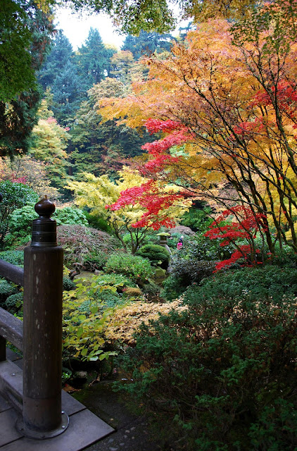 The Intercontinental Gardener A Crowded Stroll Through Portland Japanese Garden