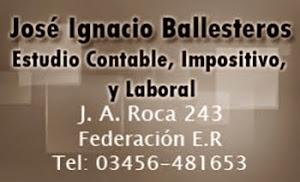 Jose Ballesteros Contador.