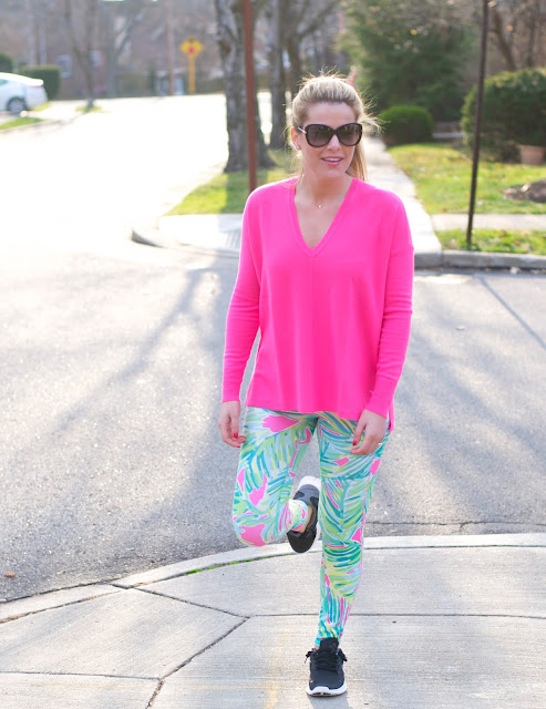 Lilly Pulitzer Cashmere and luxletic