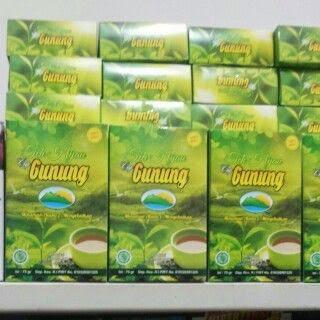 di cari reseller teh herbal cap gunung Pin:7DED3F9F