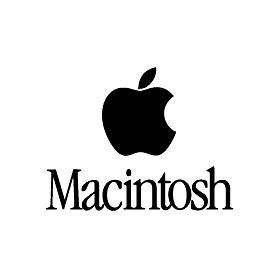 Macintosh logo(マッキントッシュ)