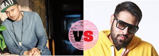 Honey Singh vs Badshah Now Beginning Poster