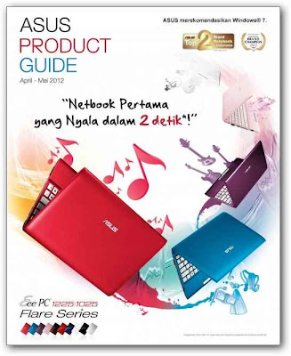 Harga Laptop Asus April - Mei 2012