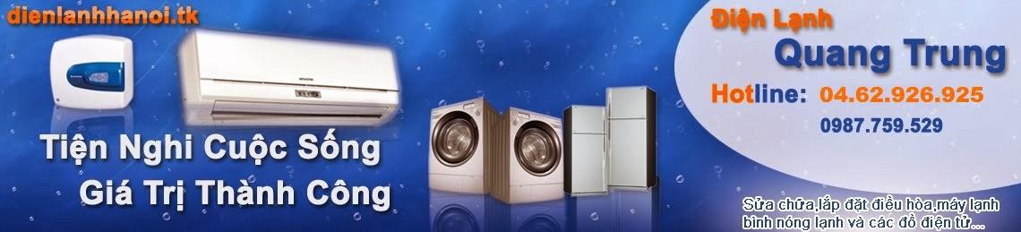 Sửa điều hòa, sửa tủ lạnh, sửa máy giặt, sửa bình nóng lạnh