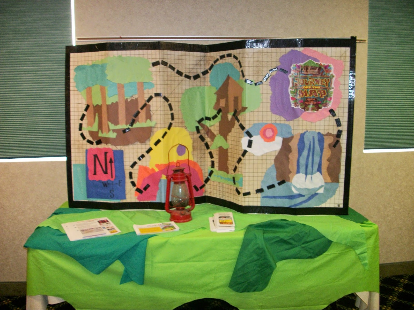 pinterest vbs journey off the map