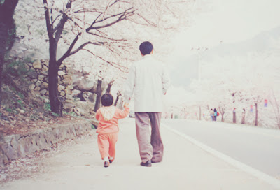 childhood memory, picture of me and my father