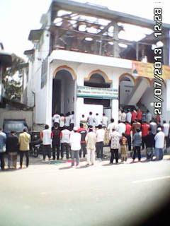 Pembangunan Masjid Baitun Nur, Tidar Krajan, Magelang