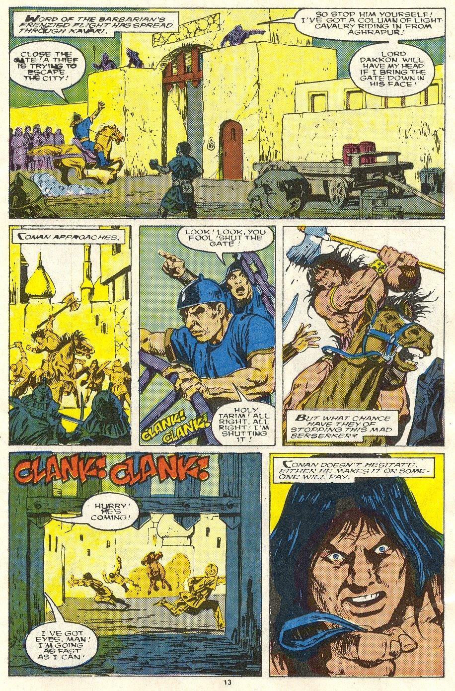 Conan the Barbarian (1970) Issue #219 #231 - English 10