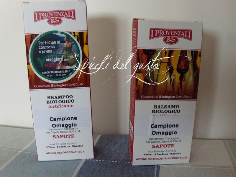 """linea capelli biologica all'olio di sapote """"i provenzali"""