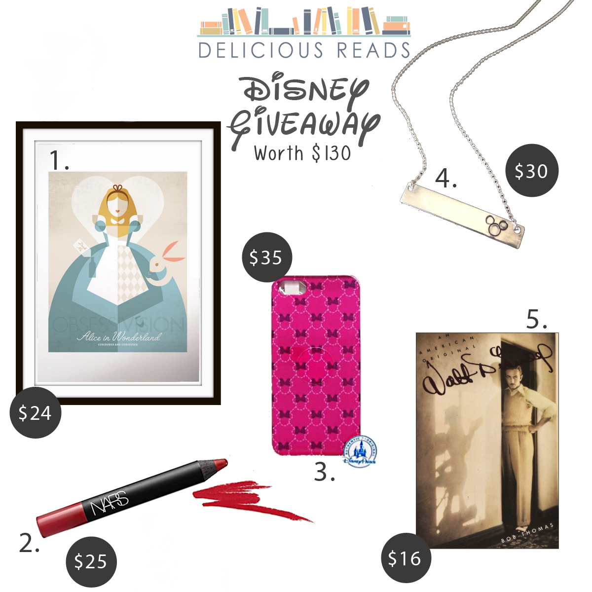 Book club Disney giveaway