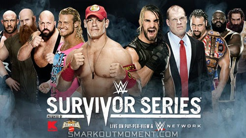 WWE Survivor Series 2014 Team Cena vs Team Authority traditional elimination match