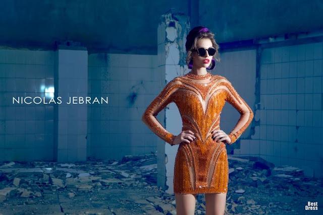Colección de vestidos Nicolas Jebran