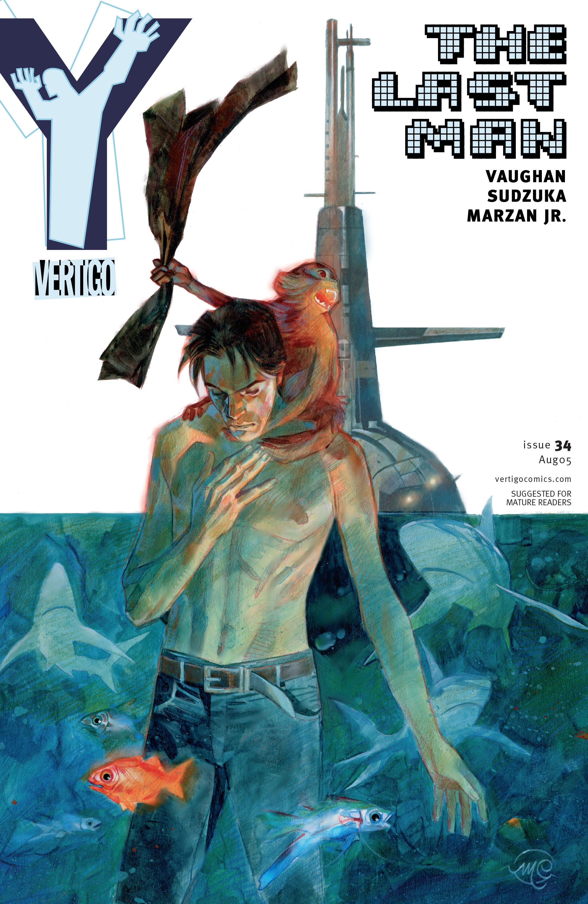 Y: The Last Man (2002) 34 Page 1
