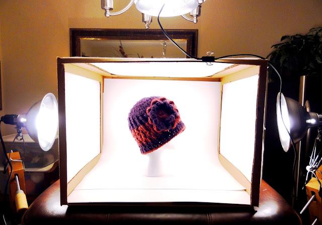 cheri quite contrary diy lightbox tutorial. Black Bedroom Furniture Sets. Home Design Ideas