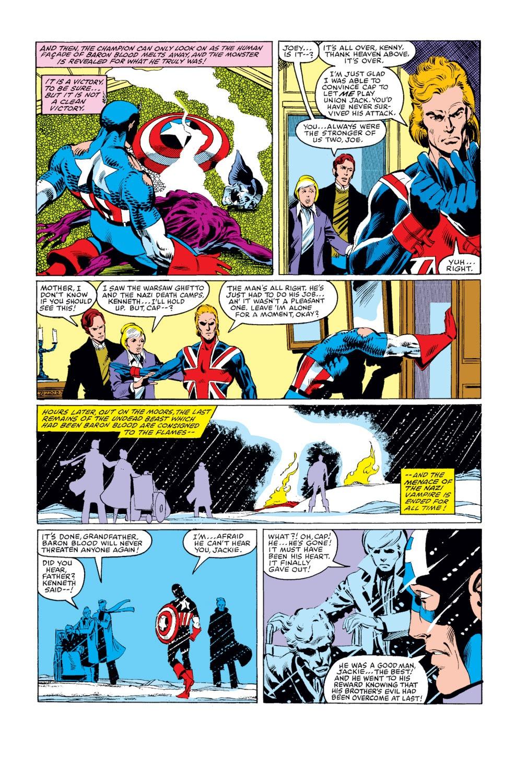 Captain America (1968) Issue #254 #169 - English 22
