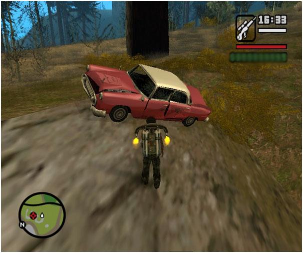 Rahasia Tesembunyi Di GTA San Andreas