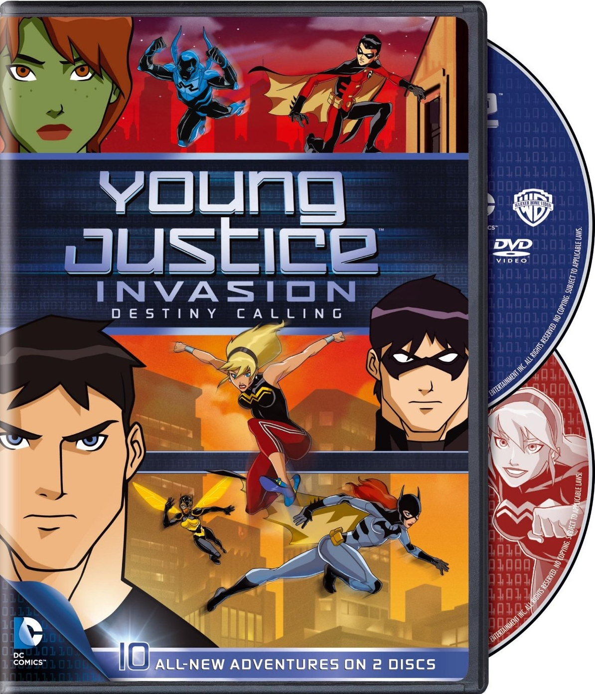DVD Review: Young Justice Invasion: Destiny Calling ...