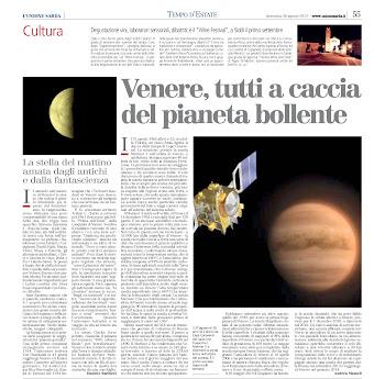 Venere, tutti a caccia del pianeta bollente